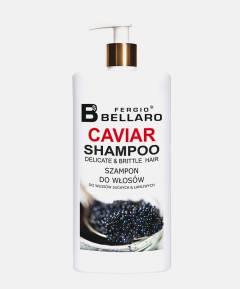 Fergio Bellaro Szampon z ekstraktem z kawioru do włosów cienkich i łamliwych 500 ml