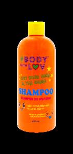 #Bodywithluv Szampon  totalna gładkość  do włosów suchych, matowych i puszących się 400 ml