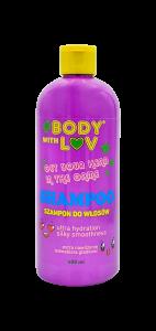 #Bodywithluv Szampon  ekstra nawilżenie do włosów bardzo przesuszonych i puszących się 400 ml