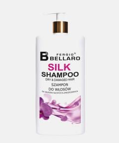 Fergio Bellaro Szampon z ekstraktem z jedwabiu do włosów suchych i zniszczonych 500 ml