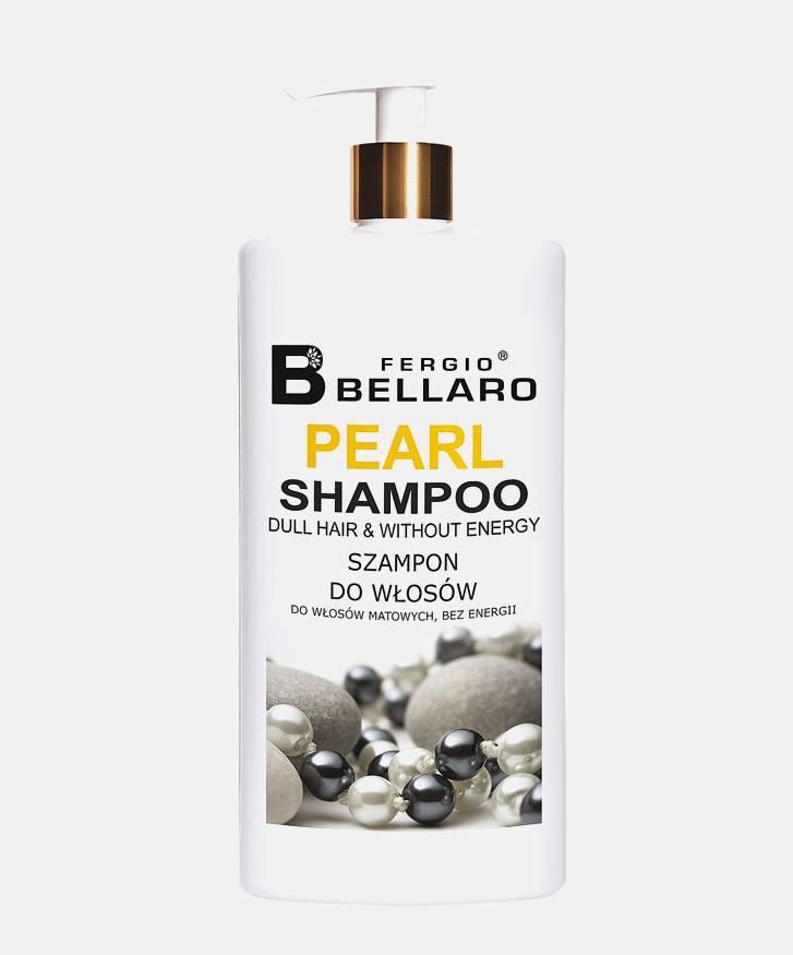 Fergio Bellaro Szampon  z ekstraktem z perły do włosów suchych i zniszczonych 500 ml