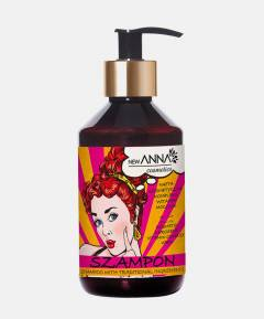 Szampon naftą kosmetyczną, kompleksem witamin i mocznikiem RETRO