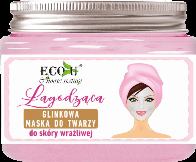 ECO U Łagodząca glinkowa maska do twarzy