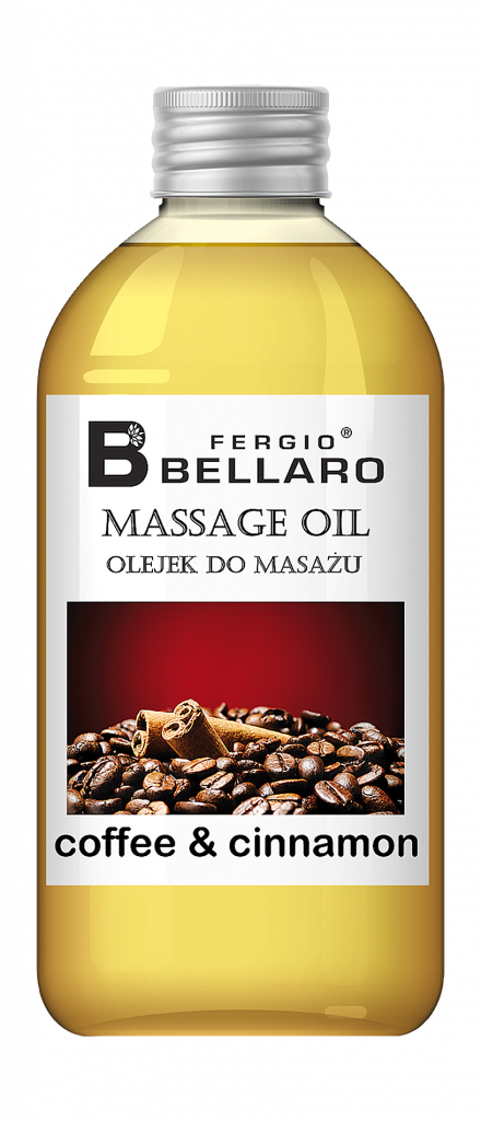 Fergio Bellaro Olejek do masażu - coffee & cinnamon