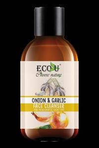 ECOU Żel do mycia twarzy z ekstraktem cebuli i czosnku do cery problematycznej 200 ml