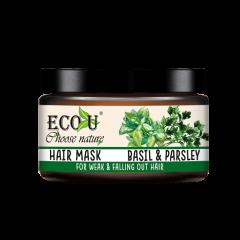 Maska do włosów z ekstraktem z bazylii i pietruszki