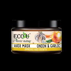 Maska do włosów z ekstraktem z cebuli i czosnku