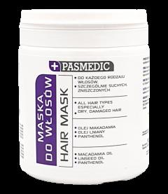 PASMEDIC Maska do każdego rodzaju włosów 250 ml