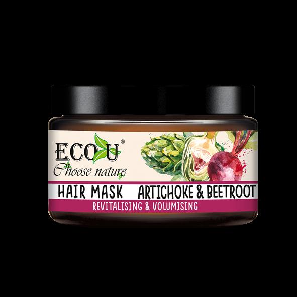 Maska do włosów z ekstraktem z buraka i karczocha