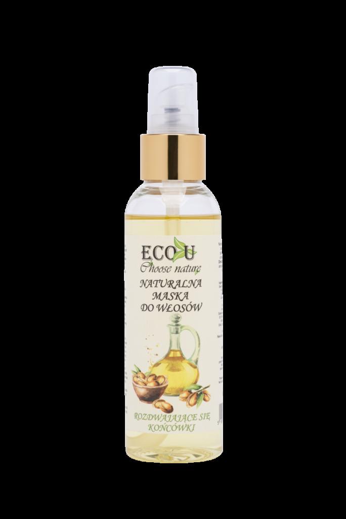 ECO U Naturalna maska olejowa do włosów - rozdwajające się końcówki 125 ml