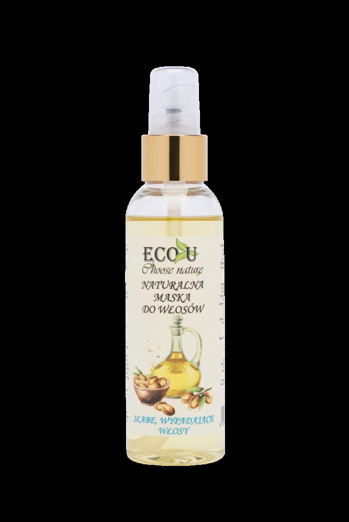 ECO U Naturalna maska olejowa do włosów - słabe wypadające włosy 125 ml