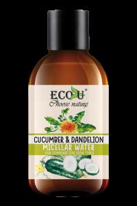ECOU Płyn micelarny z ekstraktem mniszka i ogórka do cery mieszanej 200 ml