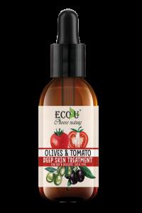 Kuracja do twarzy z ekstraktem pomidora i oliwek