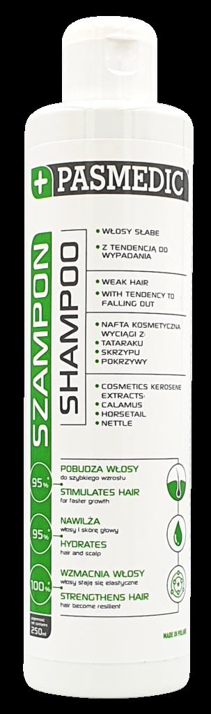 PASMEDIC Szampon do włosów słabych i z tendencją do wypadania 250 ml