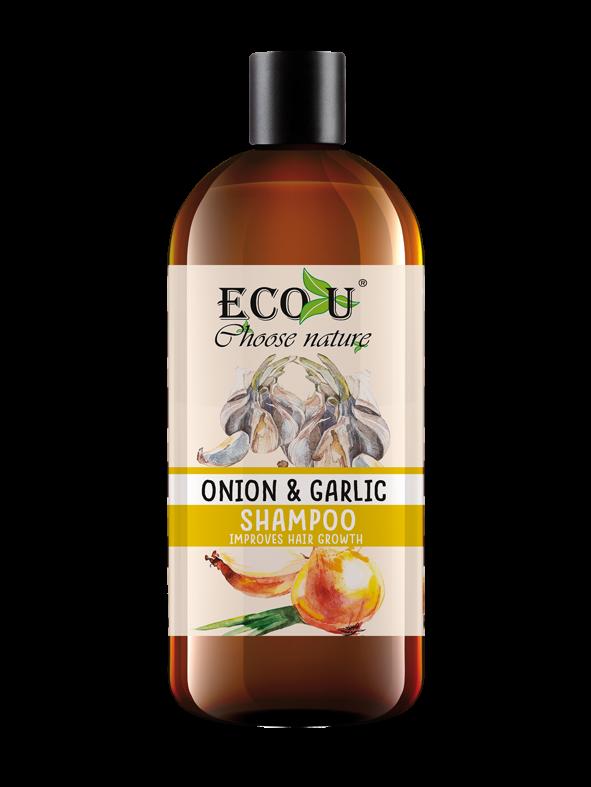 Szampon do włosów z ekstraktem cebuli i czosnku