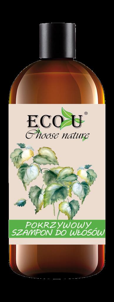 ECOU  Pokrzywowy szampon do każdego rodzaju włosów 500 ml